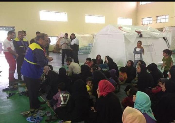 اعزام نخستین تیم پزشکی تخصصی بهداشت و درمان اهواز به مناطق سیلزده