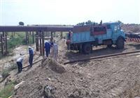 در راستای صیانت از محیط زیست و پایداری تولید انجام شد ایمنسازی دو خط لوله ۲۶ اینچ نفت در مقطع رودخانه کوپال