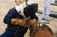 ایمن سازی ۴ خط از خطوط لوله ی نفت و گاز مارونآغاز شد