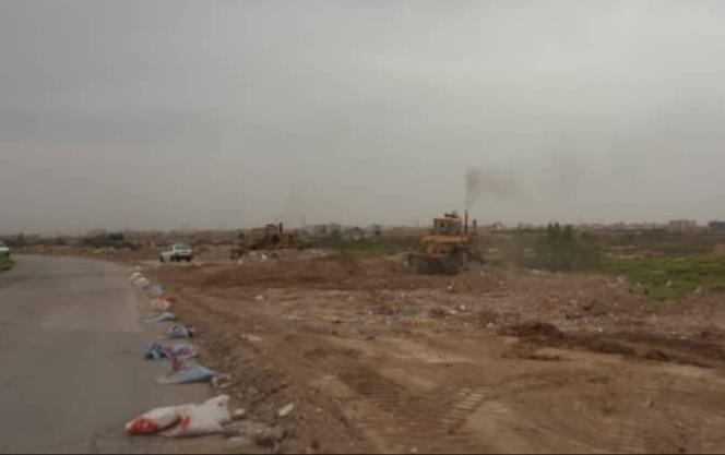 در راستای عمل به مسئولیت های اجتماعی مناطق نفتخیز جنوب انجام شد آغاز عملیات ساماندهی جاده ورودی کوی علی آباد اهواز