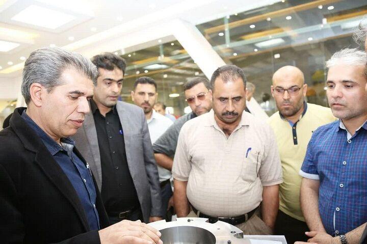 با هدف آشنایی با توربینهای گازی انجام شد بازدید کارشناسان فراگیر وزارت نفت عراق از تاسیسات انتقال گاز