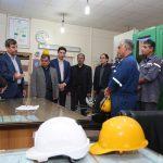 بازدید مدیرعامل شرکت ملی مناطق نفت خیز جنوب از واحد بهره برداری نفت سفید